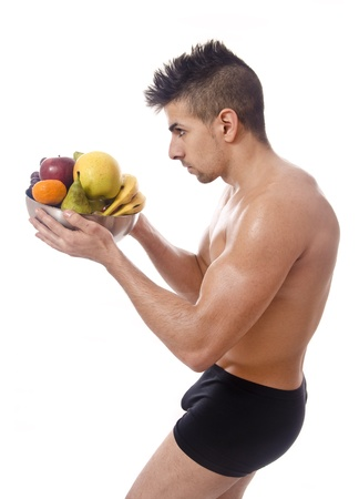 Profile of heathy diet  Stock Photo - 18518200