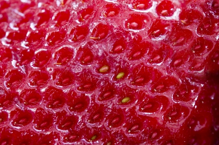 textura: Strawberry Texture Archivio Fotografico