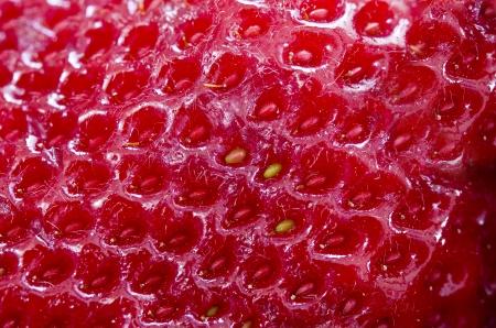 Strawberry Texture  Stock Photo