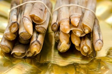 almejas: Razor clams