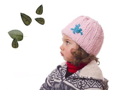 linda: Child and autumn