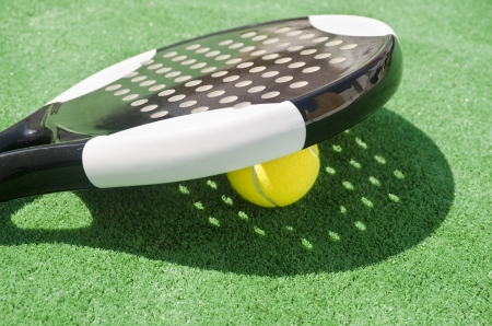 paddle: Paddle Racket Shadow  Stock Photo