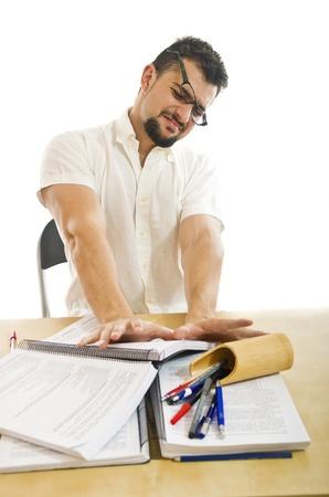 syllabus: Stressed postulator, rejecting books