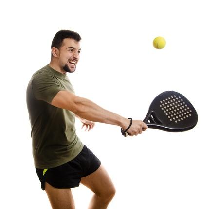 Paddle tennis hit