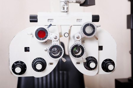 etalonnage: Optom�triste chaise, dioptries d'ophtalmologie calibrage en laboratoire oculiste