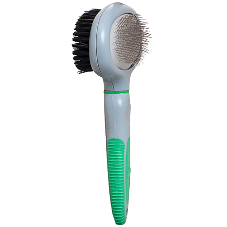 Pet brush on a white background