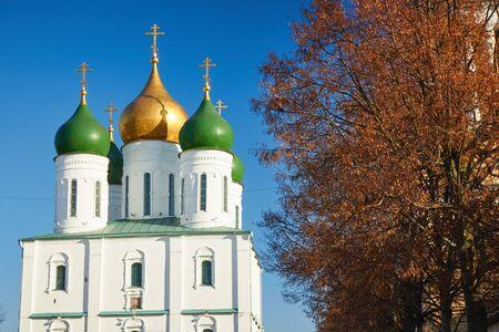 Church of the Dormition of the Theotokos in Kolomna Kremlin 写真素材