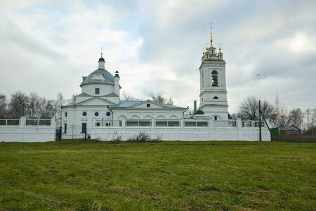 Church of the Theotokos of Kazan in Konstantinovo 写真素材