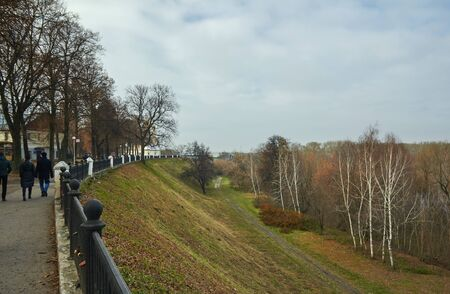 Ryazan, Russia - November 05, 2017: General view of the Ryazan kremlin Редакционное