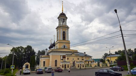 Podolsk, Russia - July 29, 2017: Church of The Russian Orthodox Church