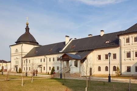 Restored Fraternal housing Sviyazhsk Dormition Monastery, Sviyazhsk, Republic of Tatarstan, Russia.