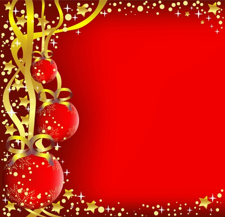 Christmas background Stock Vector - 11300091