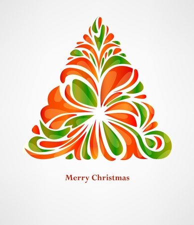 warm colors: Christmas background