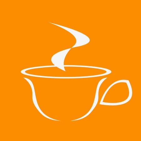 shadowgraph: Cup of coffee