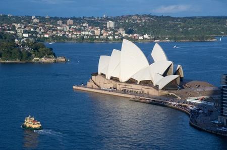SYDNEY - DECEMBER 22: Sydney Opera House view on December 22, 2011 in Sydney, Australia. The Sydney Opera House is a famous arts center. It was designed by Danish architect Jorn Utzon.