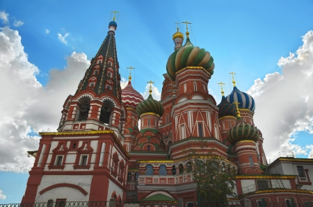 St.Basil's Cathedral (Pokrovsky Cathedral), Red Square, Moscow Stock Photo - 14875008