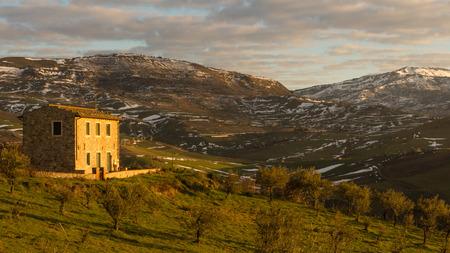 castellana: Sunrise in Castellana Sicula (PA)