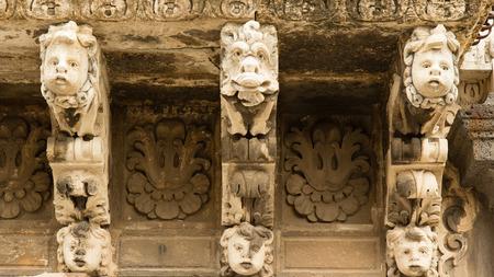 baroque: Baroque masks Stock Photo