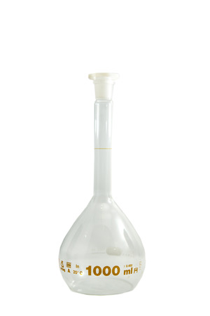 Volumetric flask 1000ml.   Scientific equipment
