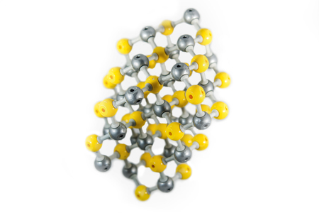 Chemical structure. Solid structure. Zinc band