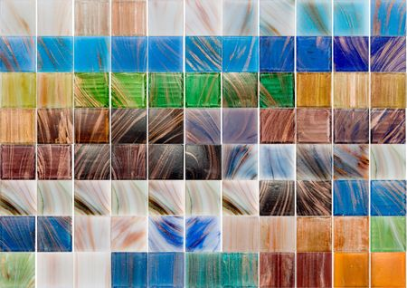 palette of a glass tiles Stock Photo - 2701191