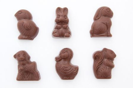 easter chocolate figures Stock Photo - 2719232