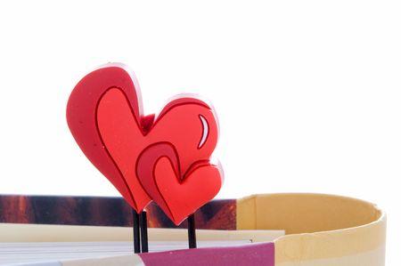 bookmark-heart Stock Photo - 2762130