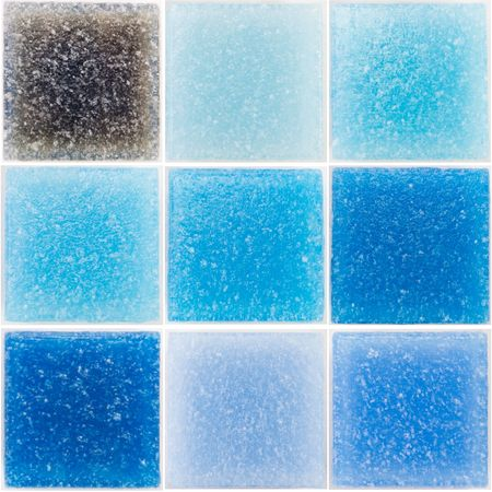 palette of a glass tiles Stock Photo - 2767374