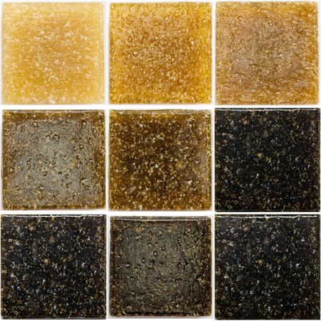 spangle: palette of a glass tiles