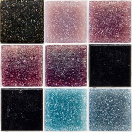 palette of a glass tiles Stock Photo - 2767378