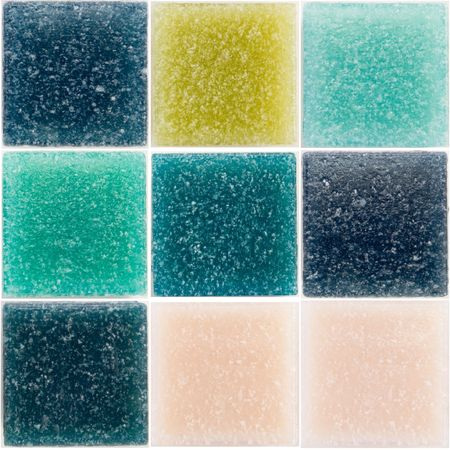 palette of a glass tiles Stock Photo - 2767376