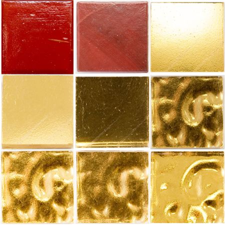 palette of a glass tiles Stock Photo - 2767377