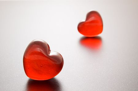 red hearts photo