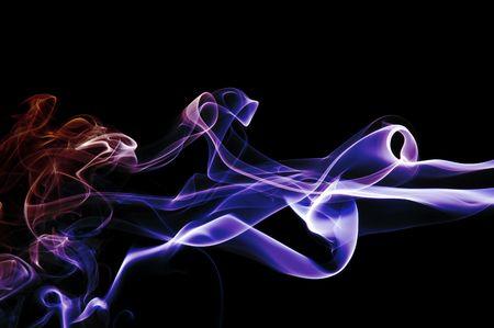 puff of rainbow smoke Stock Photo - 3965330