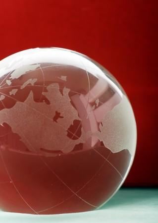 crystal ball globe photo
