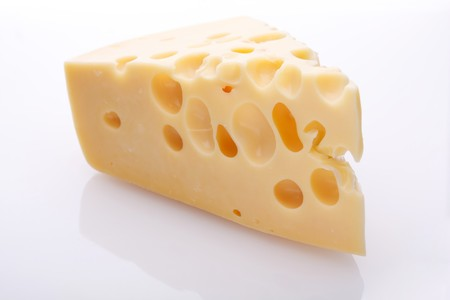 A piece of cheese photo