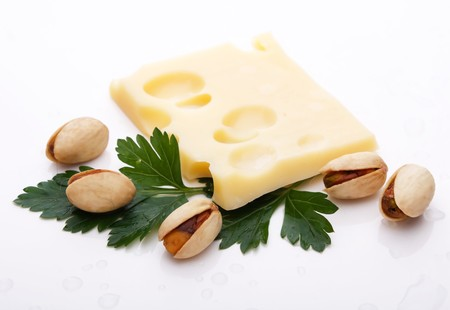 slice of cheese photo