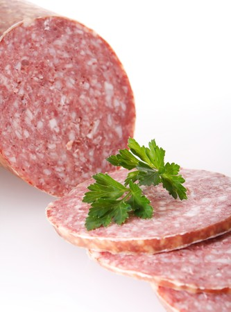 sausage slices photo