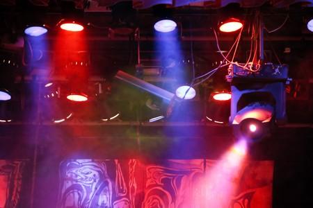 performace: spotlights