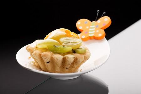 Fresh fruit tart Stock Photo - 4561534