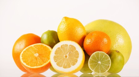 Citrus background photo