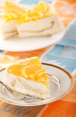 orange cheesecake Stock Photo - 4562666