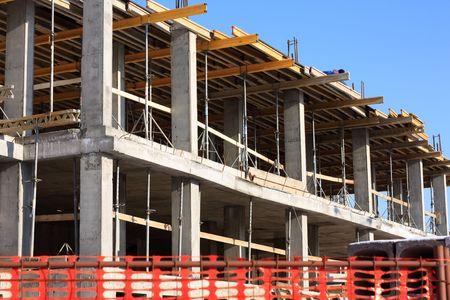 andamios: obra de construcci�n