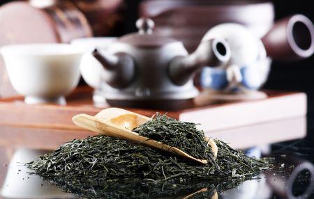 Traditional tea ceremony accessories(Japan) photo