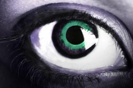 big eye Stock Photo - 4905651