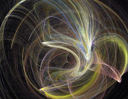 apophysis: abstract fractal background
