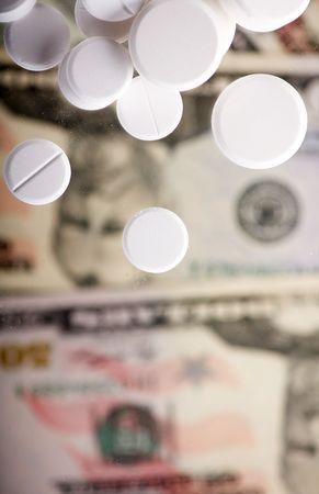 pills and money photo