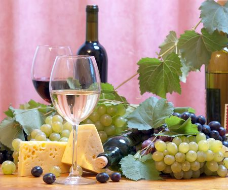 Wine composition Stock Photo - 5448286