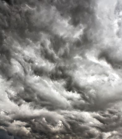 stormy clouds Stock Photo - 5546639