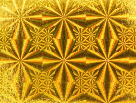 Gold metallic  paper photo